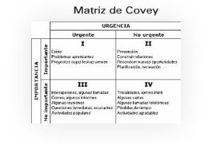 matriz de covey